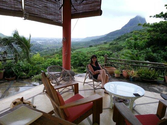 Mon Choix Ecolodge:                                     terrasse
