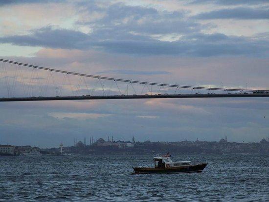 Sumahan on the Water :                                                                         Bosphorus bridge and riv
