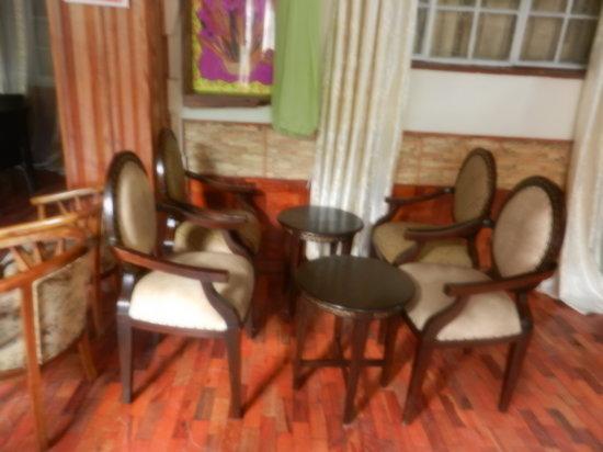 Bermuda Garden Hotel: Coffee area