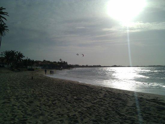 Parnaiba, PI:                   Kitesurfing
