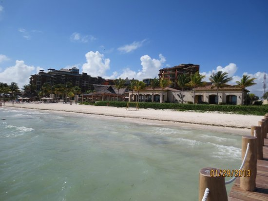 Villa del Palmar Cancun Beach Resort & Spa:                                     Hotel and beach                                  