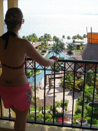 Villa del Palmar Cancun Beach Resort & Spa:                                     lovely view