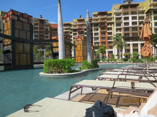 Villa del Palmar Cancun Beach Resort & Spa:                                     Pool area