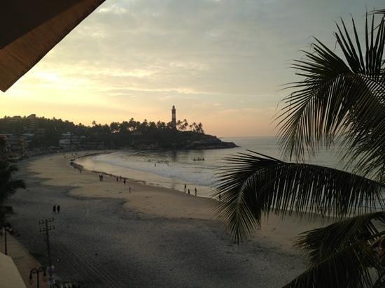 Beach Hotel Neelakanta:                   Ausblick vom Zimmer