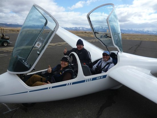 SoaringNV:                                     Groups shot before Suzi's takeoff