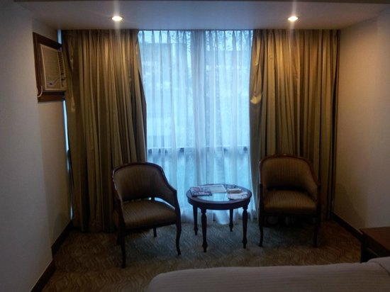The Shalimar Hotel: Front room window