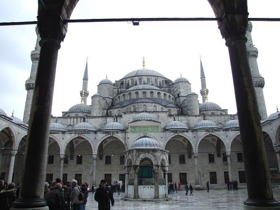 Hotel İbrahim Paşa:                                     The Blue Mosque