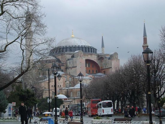 Ibrahim Pasha Hotel:                                     Hagia Sophia