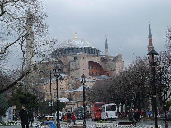 Hotel İbrahim Paşa:                                     Hagia Sophia