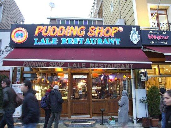 هوتل إبراهيم باشا:                                     The Famous Pudding shop                                  