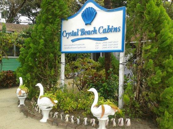 Merveilleux Crystal Beach Cabins: Ingresso