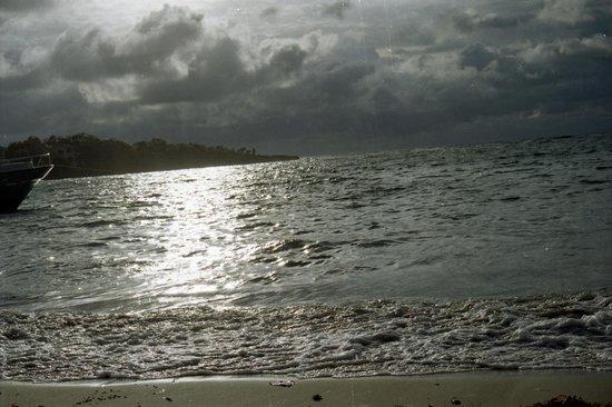 Crystal Beach Cabins :                                     Meravigliosa luce di Roatan...