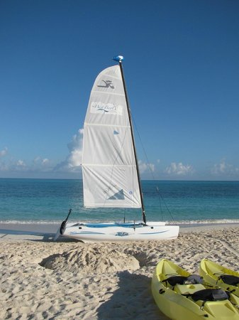 West Bay Club:                   Hobie Cat Sail