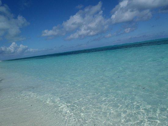 West Bay Club:                   Beautiful beach