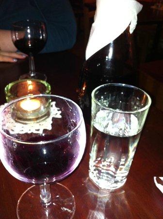 Cafe Bohemia:                                     Wine