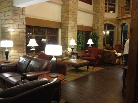 Drury Inn & Suites Amarillo:                   front reception