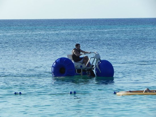 The Ritz-Carlton, Grand Cayman:                                     Your resort fee includes unlimited use of equipment like thi
