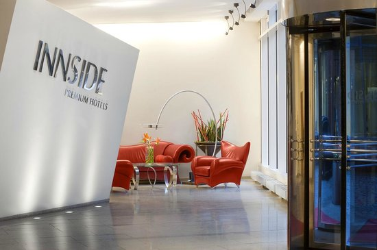 Innside Premium Hotels Berlin: Lobby / Rezeption