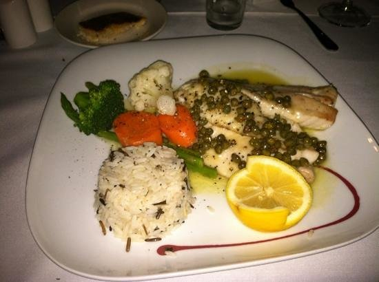 Wicker Guesthouse:                   YellowTail Snapper at Martin's Restaurant next door