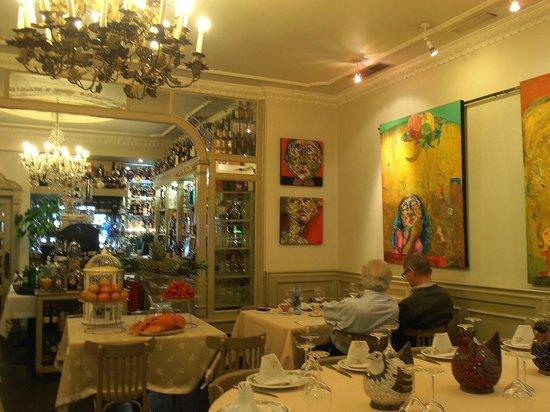 El Manjar: Vista parcial del restaurante