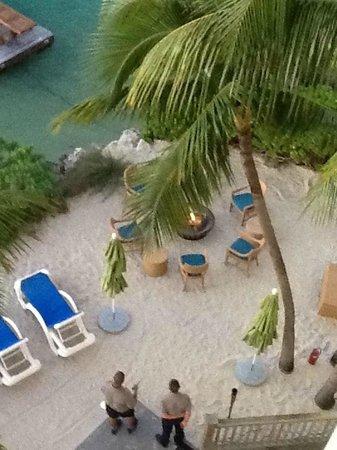 Hyatt Centric Key West Resort and Spa:                   Beach Area