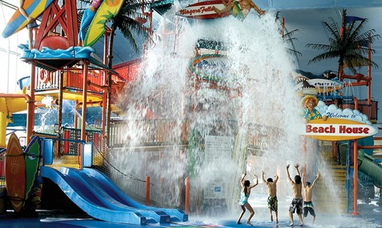 Skyline Hotel & Waterpark: Fallsview Indoor Waterpark offers 3 acres of waterfun adjacent to the hotel