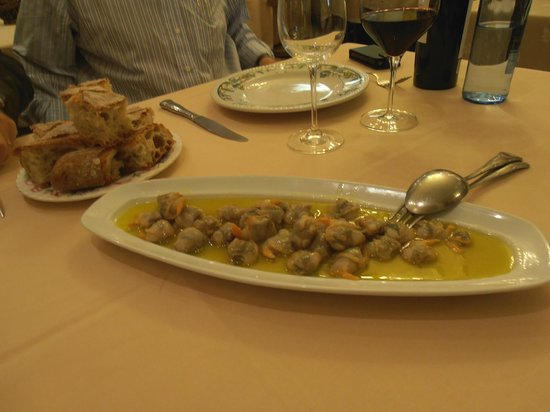 El Manjar:                   Berberechos LX