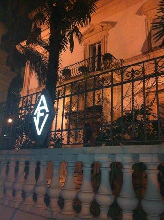 Villa Laetitia:                   Front view