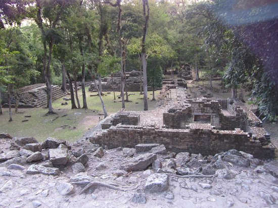 Hotel Marina Copan:                   il bel sito Copan Ruinas