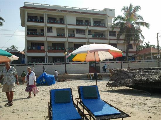 Searock Beach Resort:                   view from the beach