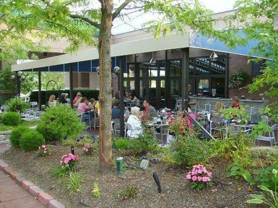 Azur Restaurant & Patio:                   The beautiful patio at Azur.