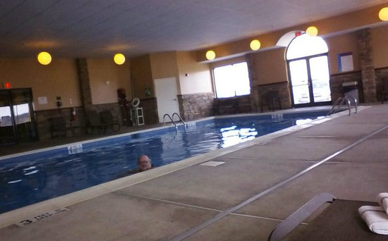 Vernon Downs Hotel: Indoor pool