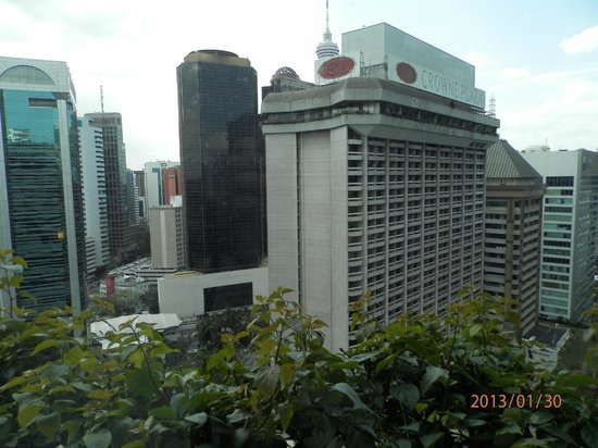 Hotel Novotel Kuala Lumpur City Centre:                   Wiew from room