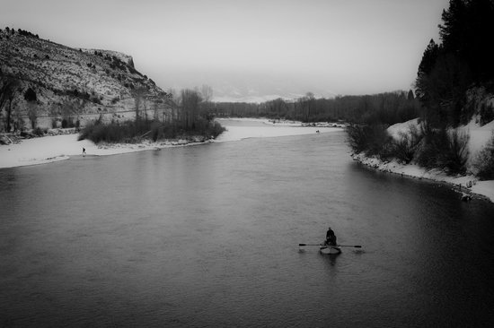 South Fork Lodge by Natural Retreats: South Fork of the Snake River