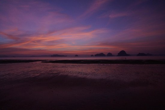 The Tubkaak Krabi Boutique Resort:                   Sunset