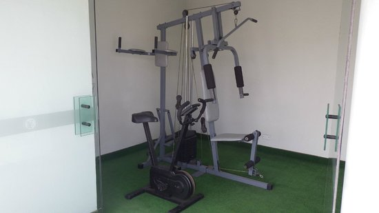 Embajadores Hotel :                   Gym rusty and broken cant use!