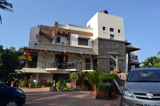 Tarkarli, Ινδία:                   Resort facade