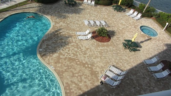 Boca Ciega Resort & Marina:                   Always a chair available