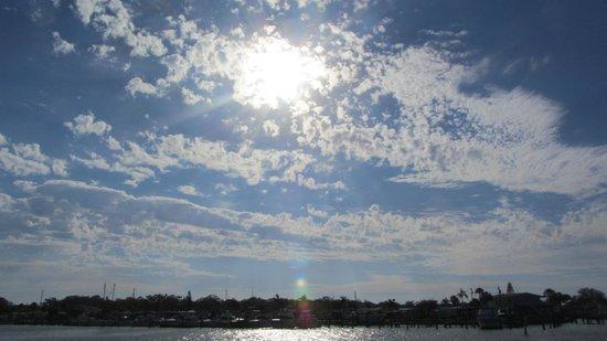 Boca Ciega Resort & Marina:                   View during the day...