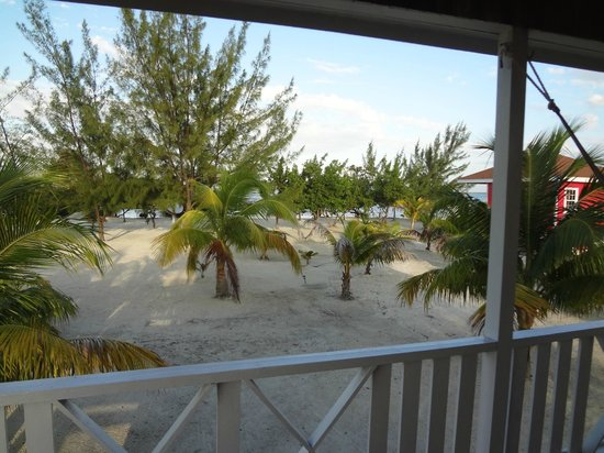 Coco Plum Island Resort:                   The view from our porch