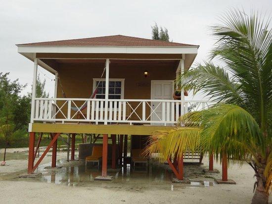 Coco Plum Island Resort:                   Front of cabana