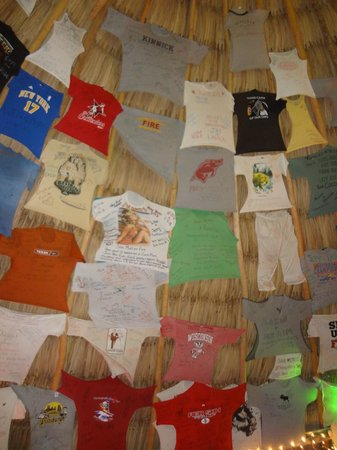 Coco Plum Island Resort:                   Bring a shirt to leave behind!