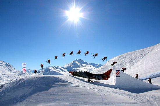 Mottolino Fun Mountain: Snowpark Mottolino