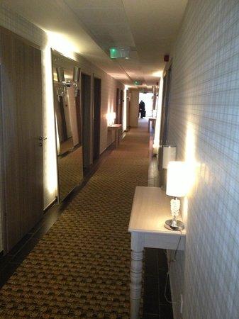Oxigén Hotel:                   Corridor