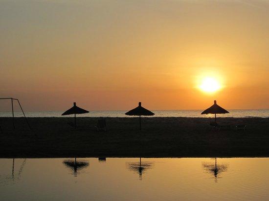 Laguna Beach :                                     couche de soleil sur la plage