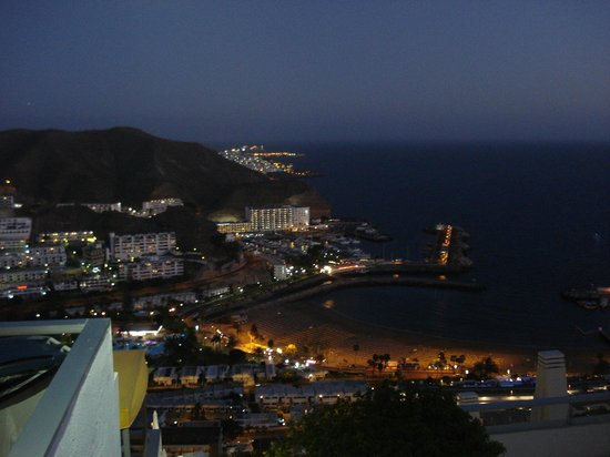 Hotel Riosol:                   Puerto Rico at night