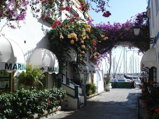 Hotel Riosol:                   Puerto Mogan ---- well worth a boat trip
