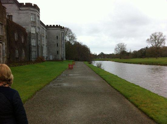 Adare Manor:                   Walk along the River