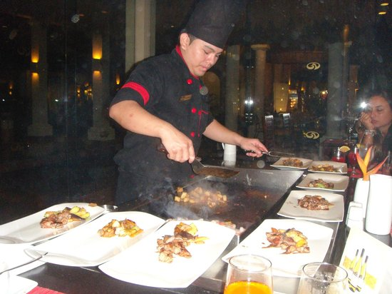 ‪‪Grand Palladium Colonial Resort & Spa‬: tepanyaki‬