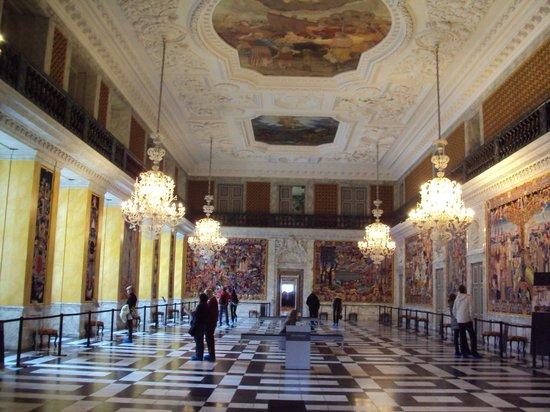 Schloss Christiansborg (Christiansborg Slot):                   Royal Reception Room